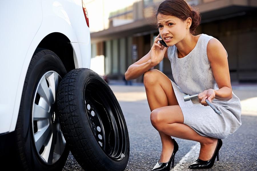 tire change service