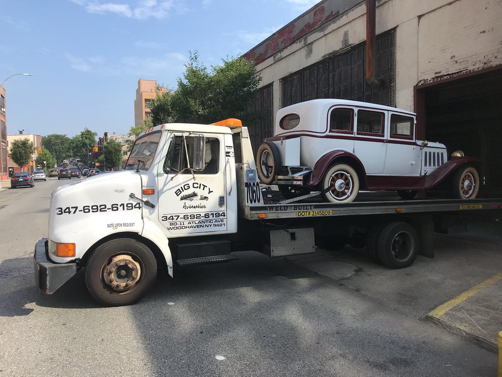 NYC junk car removal
